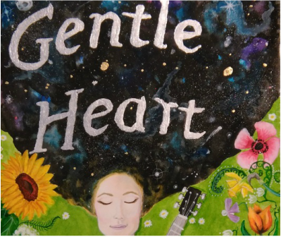 Gentle Heart Artwork Painted By Tracey Bower For Saskia Griffiths-Moore